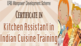 Kitchen Assistant in Indian cuisine
